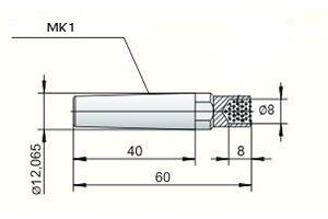 Impregnirani MK-1 ø 8