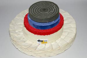 Polir materijali od sisala, platna, flanel pamuka i čoje